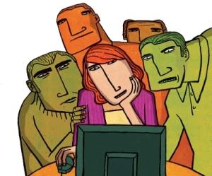 web redes sociales