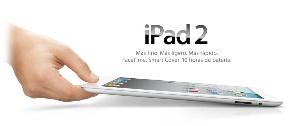 Apple y Steve Jobs presentan su iPad 2: más datos sobre los tablets para este 2011